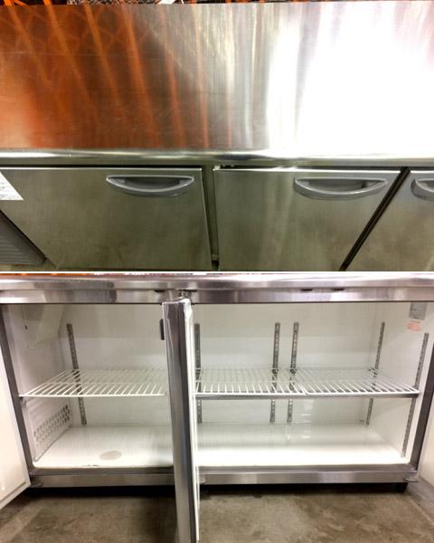 フクシマ冷蔵コールドテーブルTRC-60RE-F(改)詳細画像2