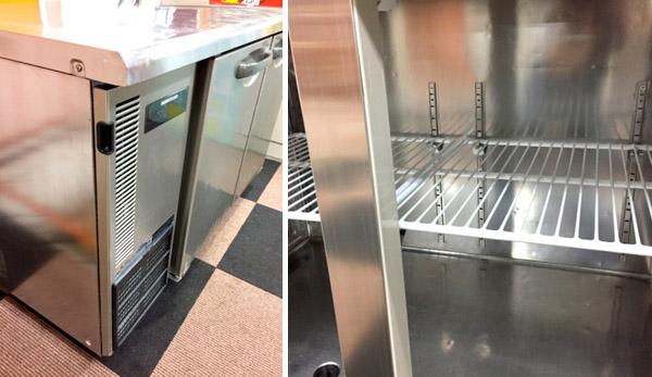 ホシザキ冷蔵コールドテーブルRT-120SNE詳細画像4