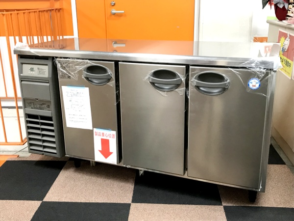 フクシマ 冷蔵コールドテーブル YRC-150RE2-E