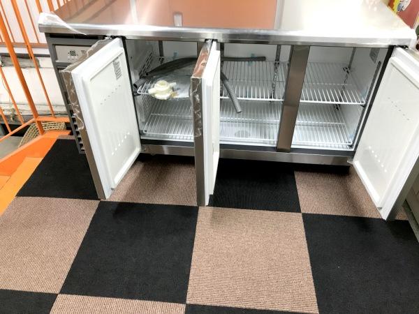 フクシマ冷蔵コールドテーブルYRC-150RE2-E詳細画像3