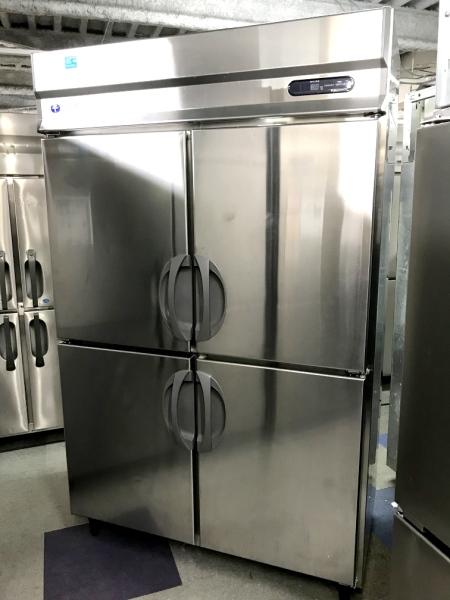 フクシマ 業務用縦型4ドア冷蔵庫 URN-40RM1
