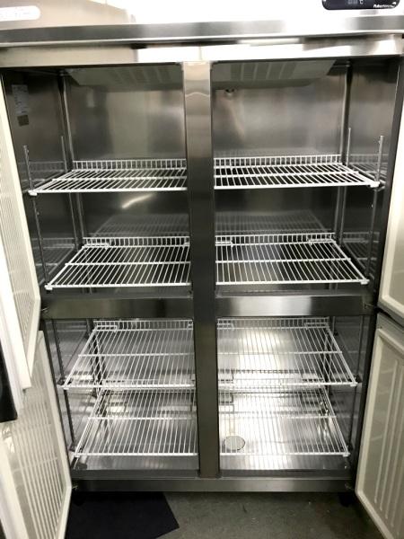 フクシマ業務用縦型4ドア冷蔵庫URN-40RM1詳細画像2