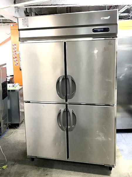 フクシマ 業務用縦型4ドア冷蔵庫買取しました!