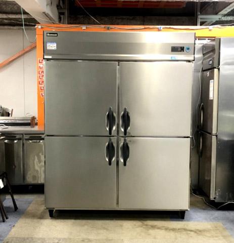 大和冷機 業務用縦型4ドア冷蔵庫買取しました!