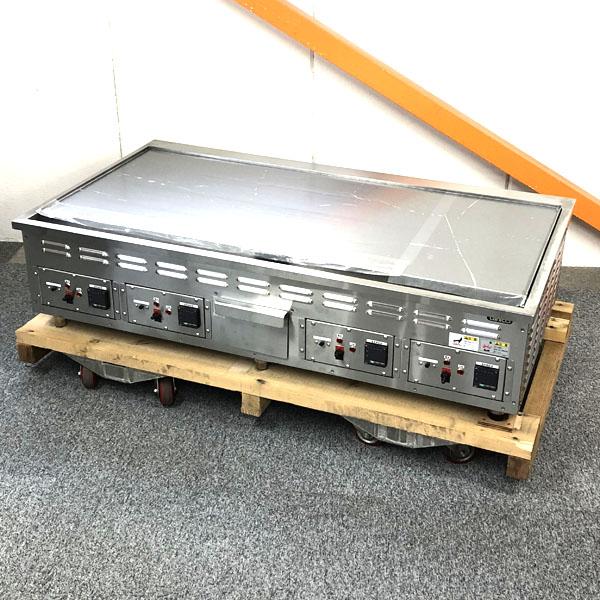 タニコー 電気グリドル 3相200V×2本 2018年製 未使用品 特注品買取しました!