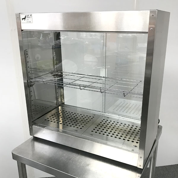 ニチワ 電気ホットショーケース HSC-603 2008年製
