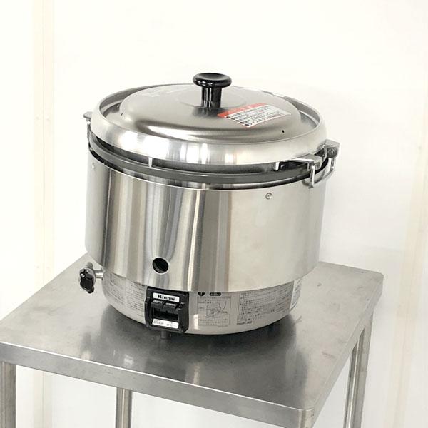リンナイ ガス炊飯器  RR-30S2 都市ガス 2015年製 未使用買取しました!