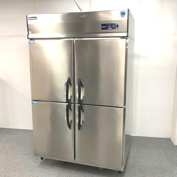 大和冷機 縦型冷凍冷蔵庫 433S2-PL-EC 2015年製