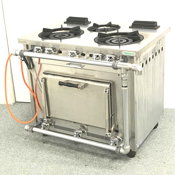 タニコー 3口ガスレンジ S-TGR-90 LPガス 2009年製買取しました!