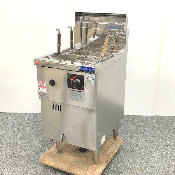 マルゼン ガス冷凍麺釜 MRF-046C 2015年製買取しました!
