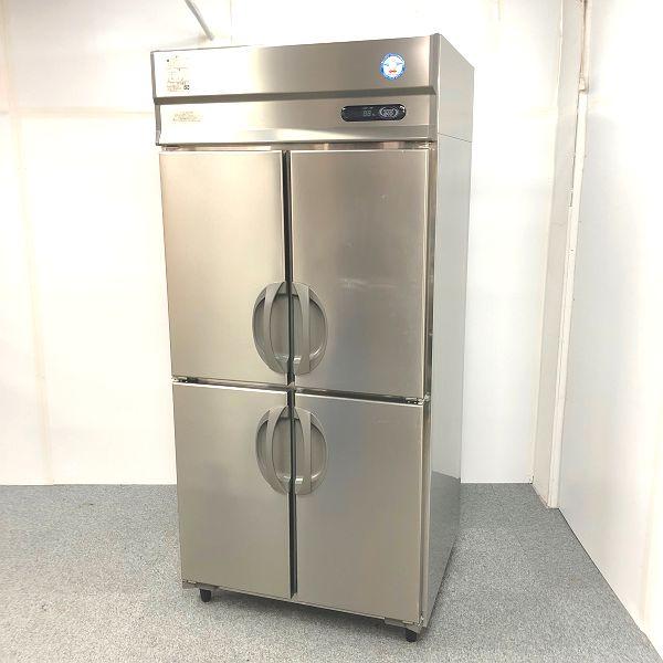 福島工業 縦型4ドア冷蔵庫 ARD-090RM-F 2015年製