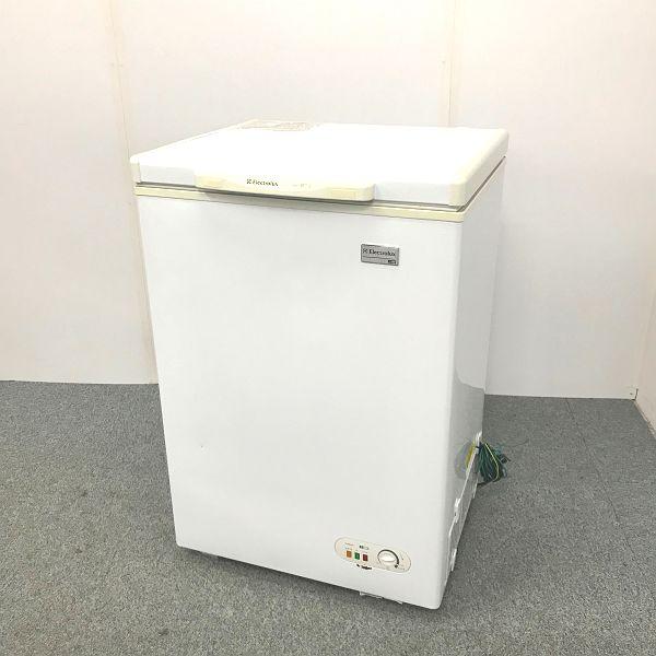 エレクトロラックス 冷凍ストッカー ECB105 2013年製