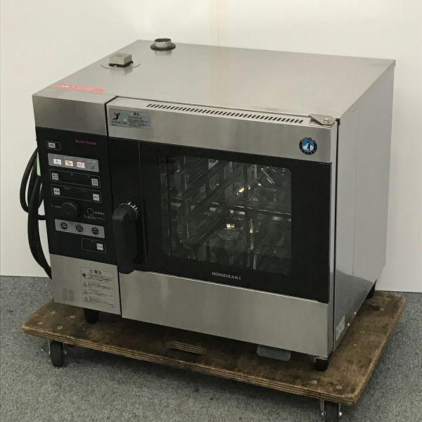ホシザキ 電気スチームコンベクションオーブン MIC-5TB3 2018年製買取しました!