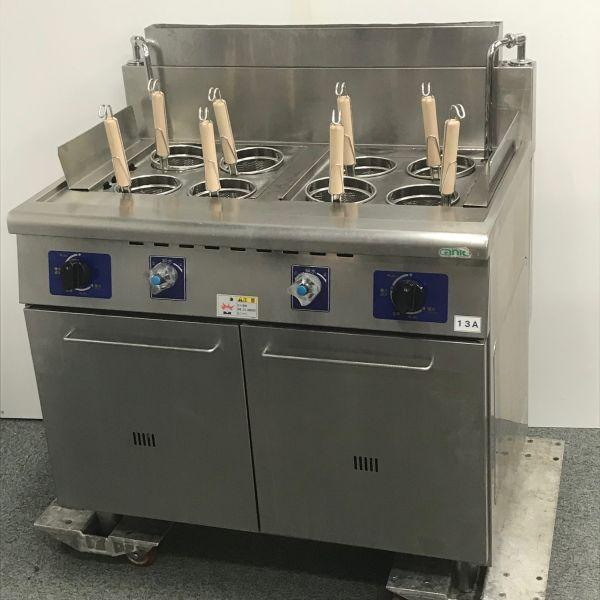 タニコー ガスゆで麺器 2槽 TU-90WN 2012年製 都市ガス買取しました!