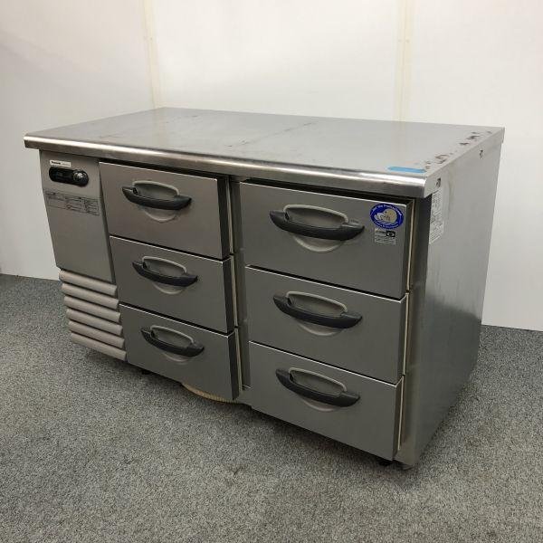 パナソニック 冷蔵ドロワーコールドテーブル SUR-DG1261-3A 2010年製