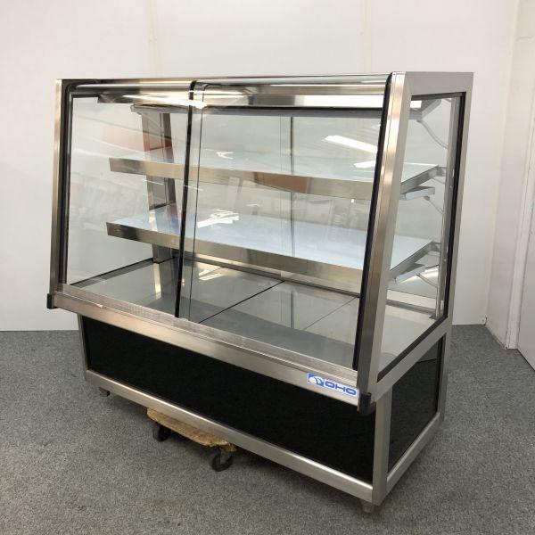 大穂製作所 対面冷蔵ショーケース OHGU-ARTa-1200W 2015年製