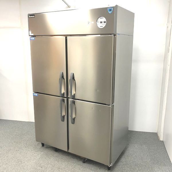 大和冷機 縦型冷凍冷蔵庫 433YS2-EC 2017年製買取しました!