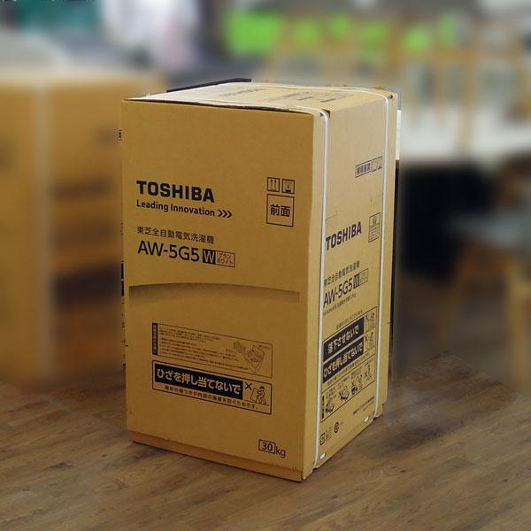 TOSHIBA(東芝) 5kg洗濯機 AW-5G5