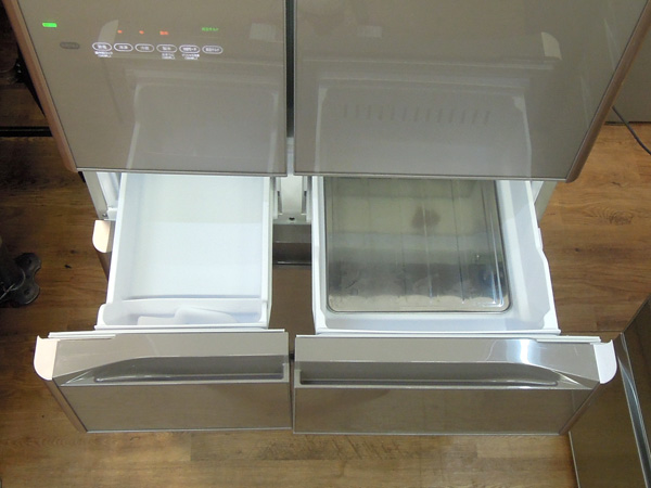 HITACHI(日立)フレンチ6ドア冷蔵庫R-XG5100G(XN)詳細画像3