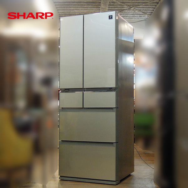 SHARP(シャープ) フレンチ6ドア冷蔵庫 SJ-GS43C-N