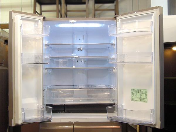 MITSUBISHI(三菱)フレンチ6ドア冷蔵庫MR-WX61Y-P1詳細画像2