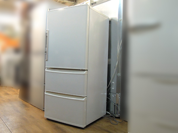 AQUA(アクア) 3ドア冷蔵庫 AQR-271E(W)