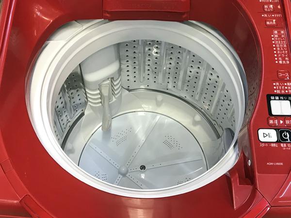 AQUA/アクア8�s洗濯機AQW-LV800E詳細画像2