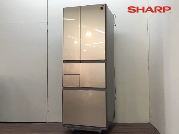 SHARP/シャープ フレンチ6ドア冷蔵庫 SJ-GT50A-N