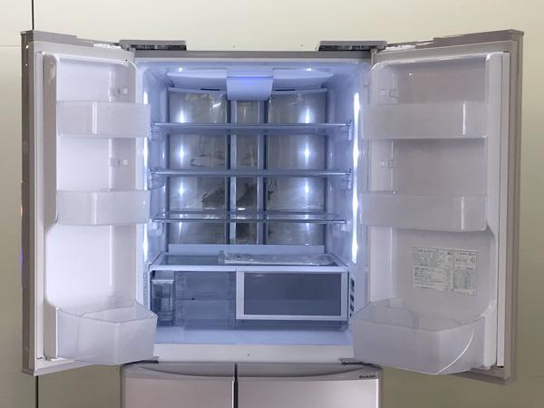 SHARP/シャープフレンチ6ドア冷蔵庫SJ-XF44Y-C詳細画像2