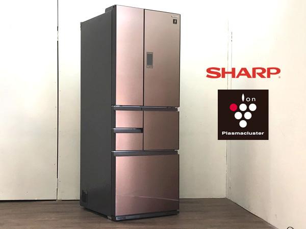 SHARP/シャープ フレンチ6ドア冷蔵庫 SJ-GX50D-T