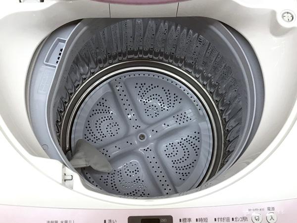 SHARP/シャープ5.5kg洗濯機ES-G55RC-P詳細画像2