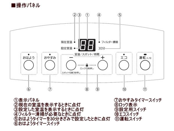 大阪ガスガスファンヒーター140-6013詳細画像2