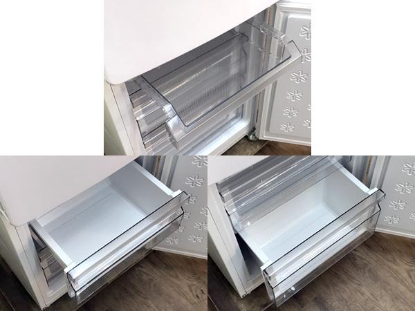 Haier/ハイアール2ドア冷蔵庫JR-NF148A詳細画像4