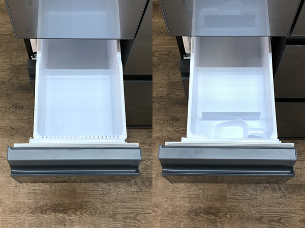 SHARP/シャープフレンチ6ドア冷蔵庫SJ-GX50E-S詳細画像4