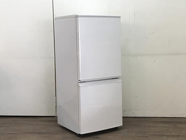 SHARP/シャープ 2ドア冷蔵庫 SJ-D14C-W