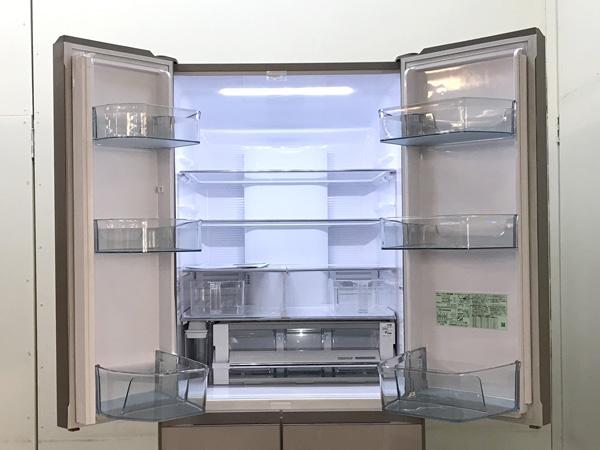 HITACHI/日立フレンチ6ドア冷蔵庫R-HW52J(XN)詳細画像2