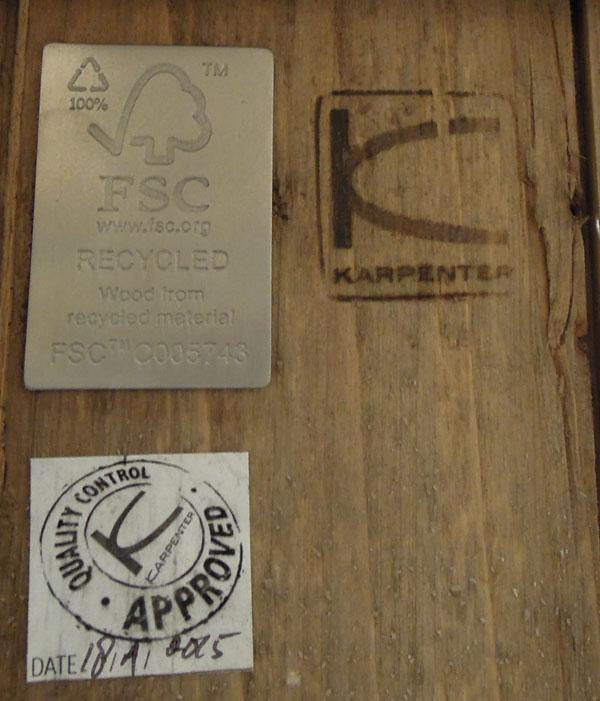 KARPENTER(カーペンター)ワークテーブルLOUIS(ルイス)詳細画像7