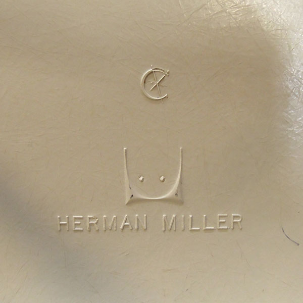HermanMiller(ハーマンミラー)サイドシェルチェアブラウン詳細画像6