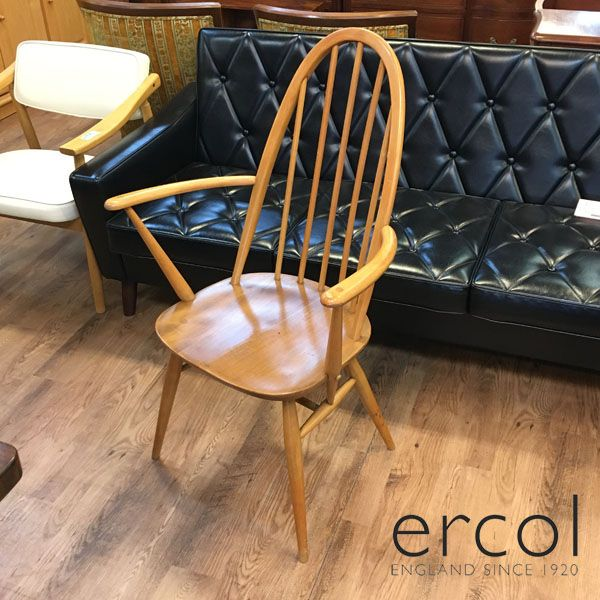 ERCOL( アーコール )クエーカーチェア / アームチェア1960