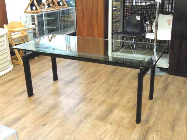 IDC大塚家具 ガラスダイニングテーブル