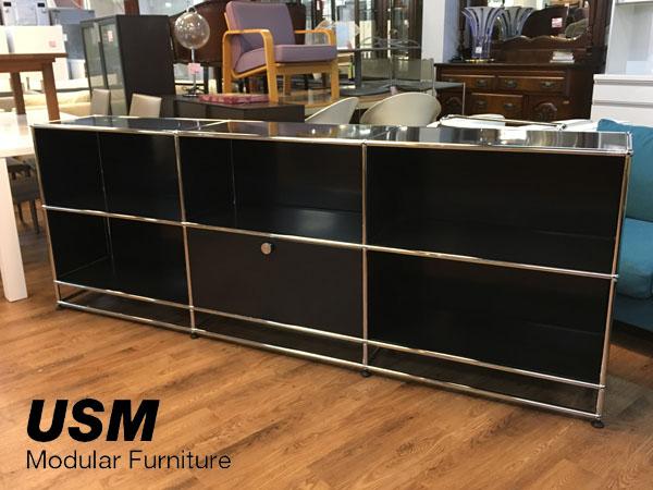 USM Modular Furniture ハラーシステム 3列2段買取しました!