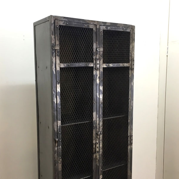 journal standard Furniture( ジャーナルスタンダードファニチャー )メッシュロッカー 2ドアGUIDEL( ギデル )詳細画像2