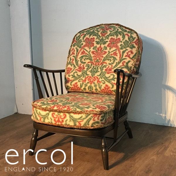 ERCOL( アーコール )1Pソファ / ラウンジチェアホイールバック