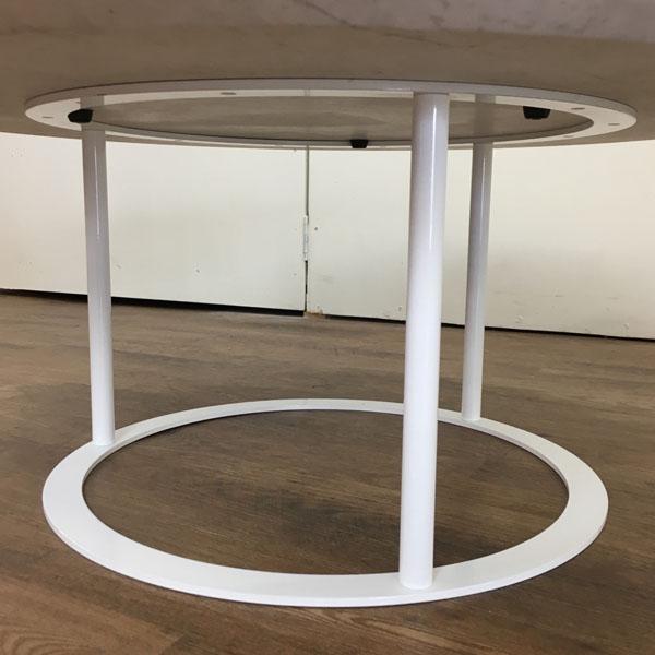 arflex( アルフレックス )ローテーブルUVI( ウビ )ホワイト詳細画像4