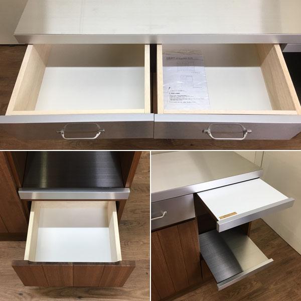 unico( ウニコ )キッチンカウンター オープン W1200STRADA( ストラーダ )詳細画像6
