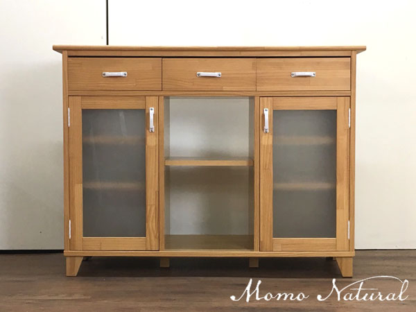 Momo Natural( モモナチュラル )キッチンカウンター 両面仕様LAND COUNTER 2 SIDE( ランドカウンター 2サイド )
