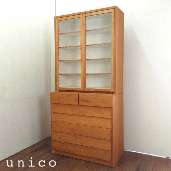 unico( ウニコ )カップボードTUO( トゥオ )ナチュラル