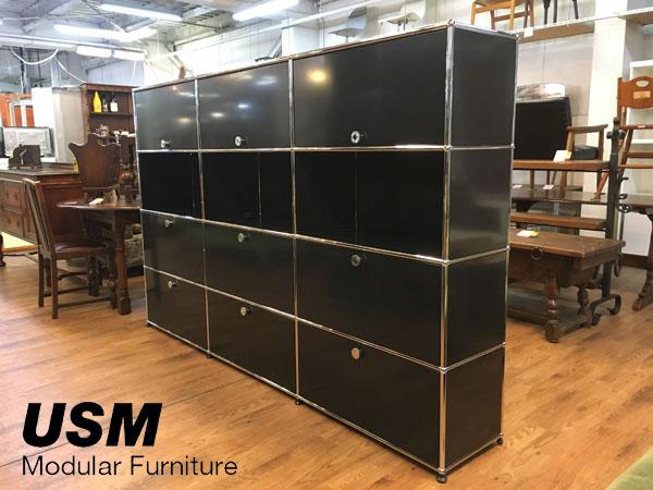 USM Modular Furniture 3列4段 ハラーシステム / ハラーキャビネット買取しました!
