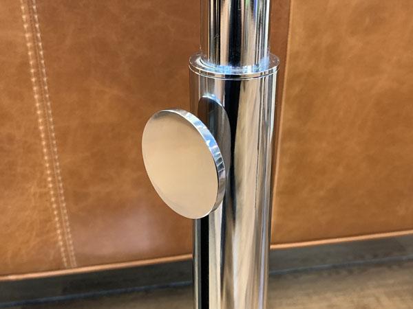 porada( ポラダ )(A)昇降式ガラスサイドテーブルPL詳細画像4