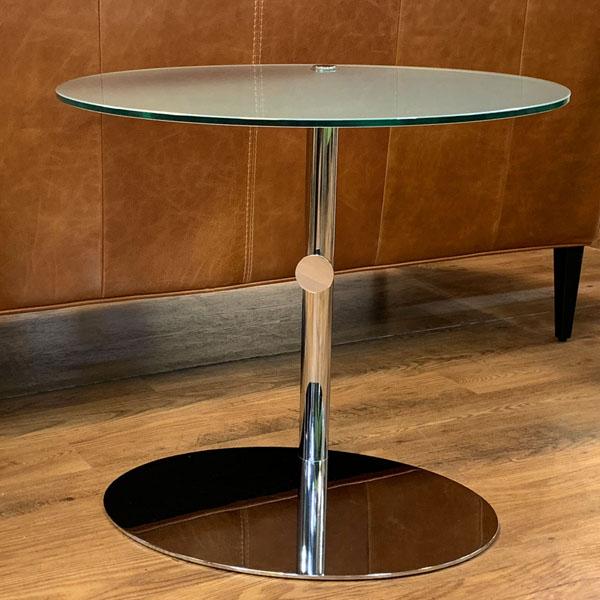 porada( ポラダ )(B)昇降式ガラスサイドテーブルPL